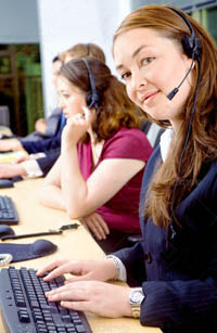 Call Center representatives at First Network Group, Inc